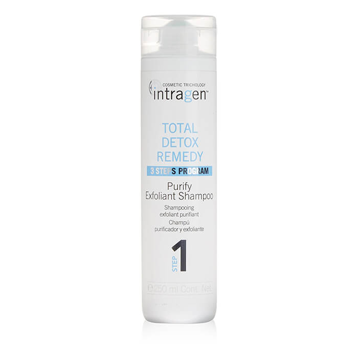 INTRAGEN Total Detox Remedy Purify Exfoliant Shampoo Step 1 250ml