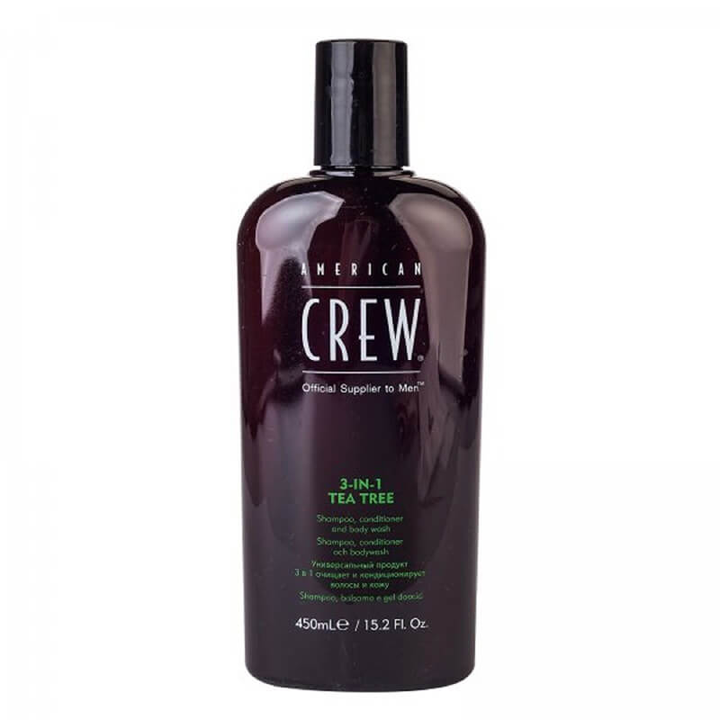 AMERICAN CREW 3 in 1 Tea Tree 450mlAMERICAN CREW 3 in 1 Tea Tree 450ml