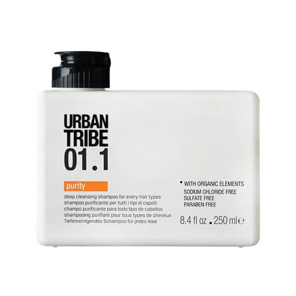 URBAN TRIBE Cleansing 01.1 Purity 250ml Shampoo