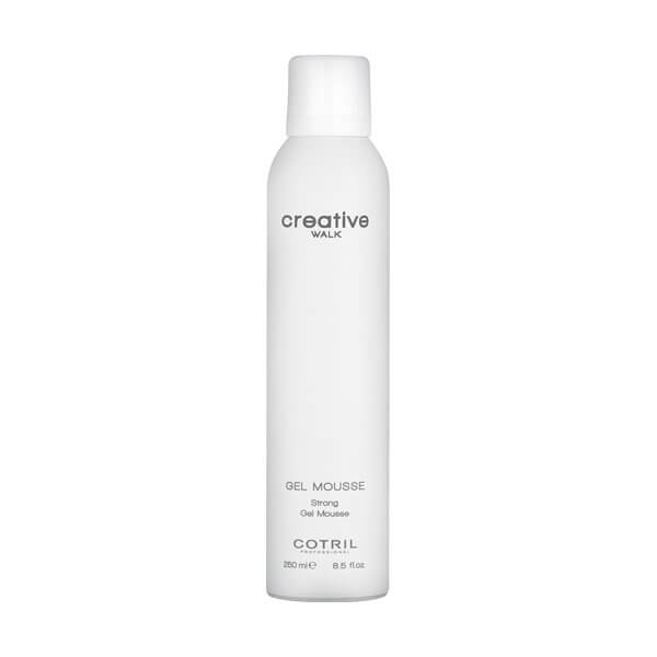 COTRIL Creative Walk Gel Mousse Strong 250ml Spray / Lacca / Mousse