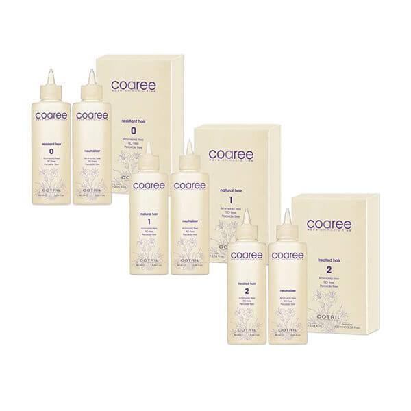 COTRIL Color Wave Coaree 2 Treated Hair 90ml + 100ml Trattamenti