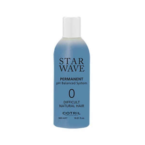 COTRIL Star Wave Permanent 0 Difficult Natural Hair 500ml Trattamenti