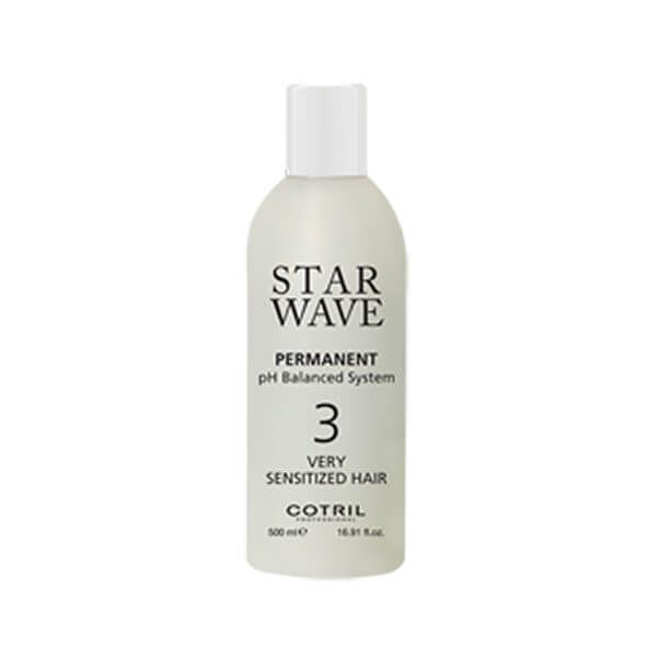 COTRIL Star Wave Permanent 3 Very Sensitized Hair 500ml Trattamenti