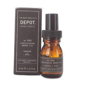 DEPOT Beard & Moustache No. 505 Conditioning Beard Oil 30ml