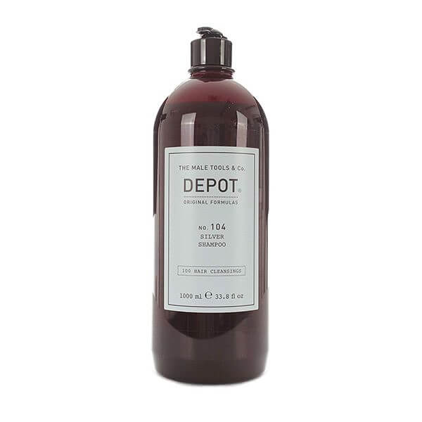 DEPOT Hair Cleansings No. 104 Silver Shampoo 1000ml Shampoo