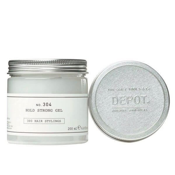 DEPOT Hair Stylings No. 304 Hold Strong Gel 200ml Cere / Gel