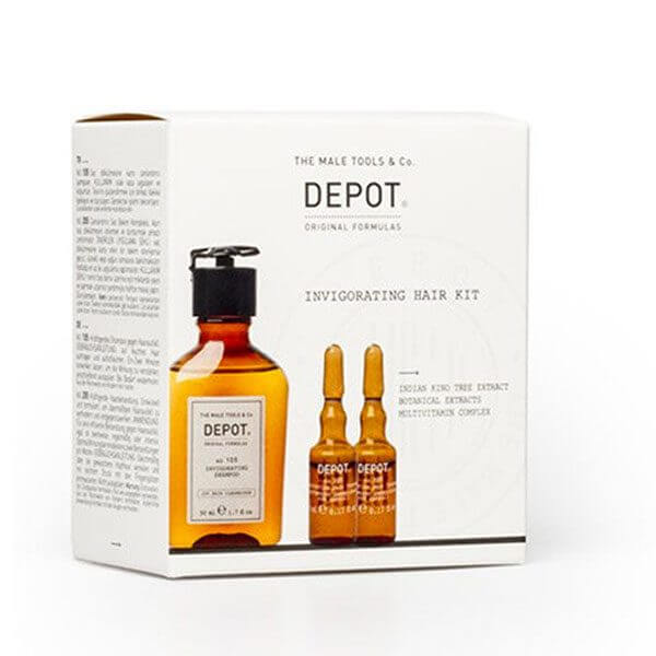 DEPOT Invigorating Hair Kit Kit, Trattamenti