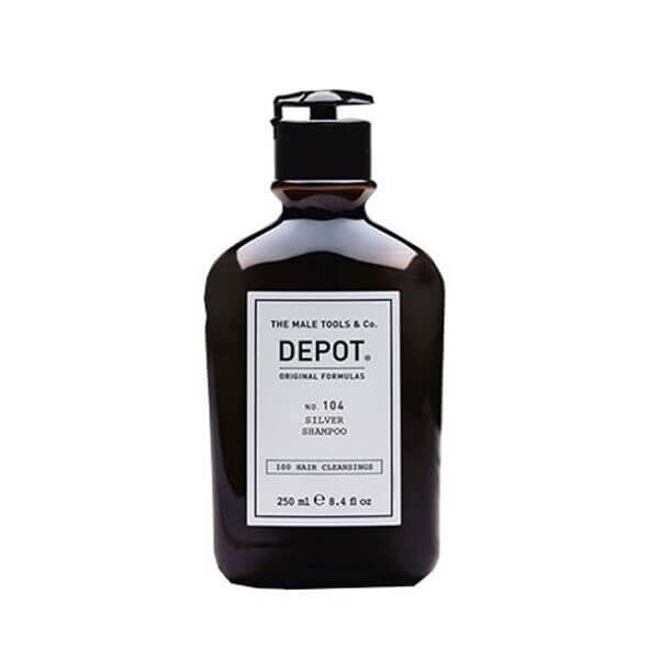 DEPOT Hair Cleansings No. 104 Silver Shampoo 250ml Shampoo