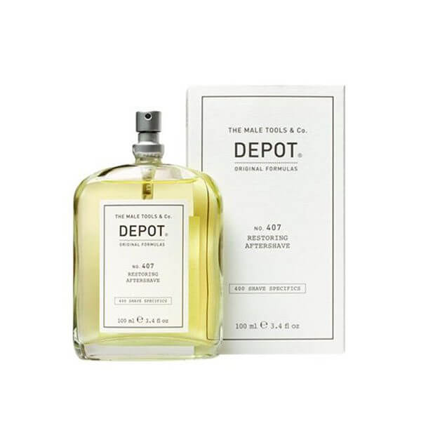 DEPOT Shave No. 407 Restoring Aftershave 100ml Rasatura Uomo
