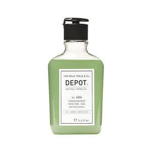DEPOT Shave No. 406 Transparent Shaving Gel 200ml
