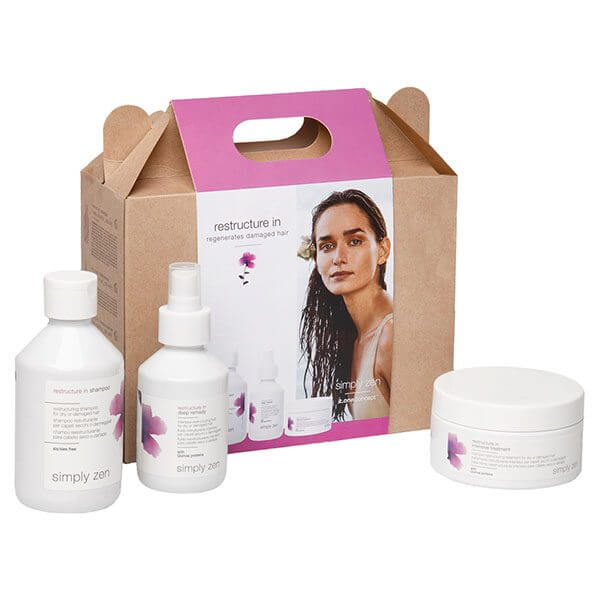 Z.ONE CONCEPT Simply Zen Restructure In Regenerates Damaged Hair Kit